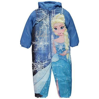 Frozen; 2017 Snowsuit/puddlesuit,2/3,3/4,4/5,5/6,7/8Yr,new With Tags