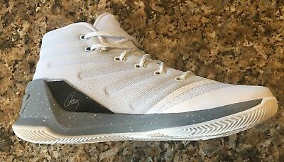 d6376243b9e Under Armour Ua Steph Curry 3 Men s Basketball White Black Sneakers Shoe  1269279