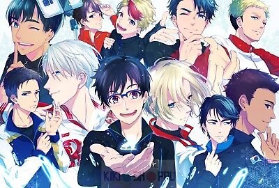 Poster A3 Yuri On Ice Yuri Victor Yuuri Manga Anime Cartel 02