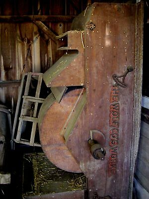 Original Antique Grist Mill Works Parts Machinery Taken From 1699 Grist Mill  Nj