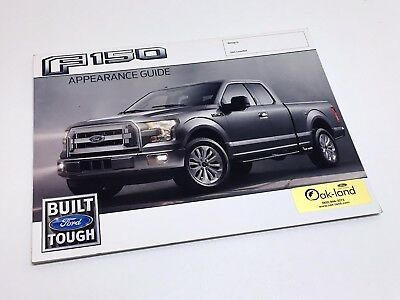 2017 Ford F-150 XL XLT Lariat King Ranch Platinum Appearance Guide Brochure