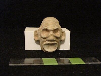 Pre Columbian, Taino, Stone Face Cemi, Early/Late Post Classic 900 1500 A.D.