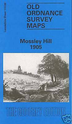 Old Ordnance Survey Map Mossley Hill 1905