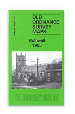 Old Ordnance Survey Map Rothwell 1905