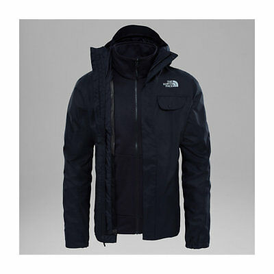 The North Face Tanken Triclimate Jacket Tnf Black 3 In 1 Fw 2018 Giacca New  S M 94ecde5f5f98