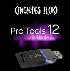 New! Avid Pro Tools 12 Software with Ilok (boxed)
