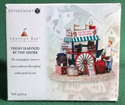 Department 56- Fresh Seafood by the Shore- Seasons Bay #56.53604