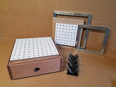 "Vacuum Former/Forming 2 in 1, 12"" x 12"" and 9"" x 9"" Forming/Machine box."