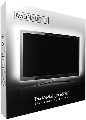 MediaLight 6500K Bias Lighting System 140cm 42 LEDs with remote control dimmer