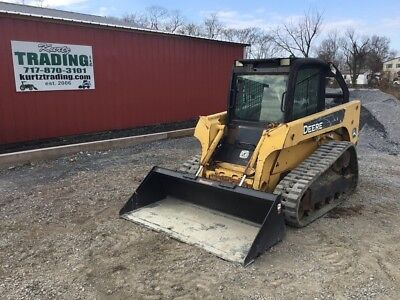 2005 John Deere CT 322 Tracked Skid Steer Loader w/Cab!