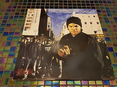 Ice Cube Amerikkkas Most Wanted Vinyl LP First Pressing Rare NM NWA 90s Hip Hop
