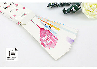 30pc Cute I Love You Lovers Bookmarks For Books Book Markers Gift For Readers