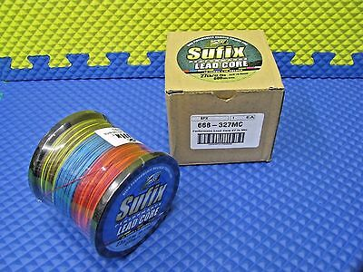 Sufix Lead Core Braided Fishing Line 27LB/600YDS 60 Color Metered 668-327MC