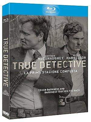 True Detective - Stagione 01 (3 Blu-Ray) Matthew McConaughey;Woody Harrel NUOVO