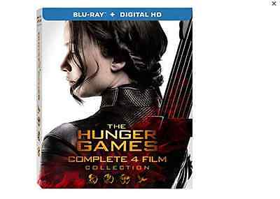 Hunger Games - Complete Collection (4 Blu-Ray) E ORIGINAL