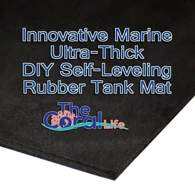 Innovative Marine Diy Self Leveling Rubber Mat For Aquariums - 24X24