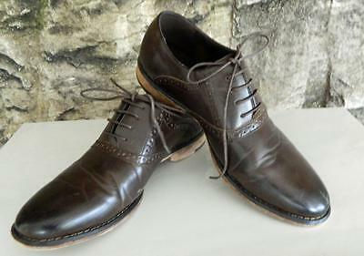J75 by Jump Finley Brown Brogued Oxford Shoe