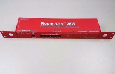 AVTECH Room Alert 26W Temp Humidity Power Monitor R26-90632 without adaptor