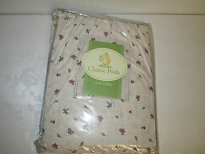 Classic Pooh Dust Ruffle Crib Nursery Bedding A Bear And His Things Best Friends