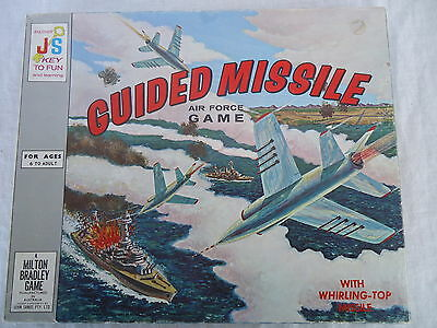 GUIDED MISSILE Air Force Game VINTAGE 1964 John Sands/MB CLEAN COMPLETE #3968