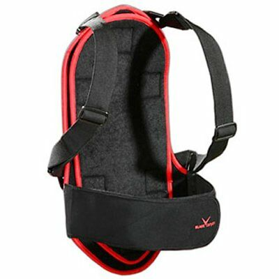 BLACK CANYON Protection dos enfants / Adultes Noir/Rouge/Argent XL