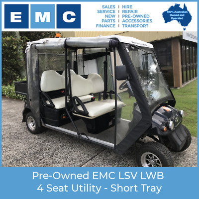 Pre-Owned EMC LSV LWB 4 Seat Utility - Short Tray Electric Vehicle