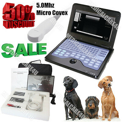 CE Approved, Veterinary Laptop Ultrasound Scanner & Micro Convex ,Dog/Cat/Pig