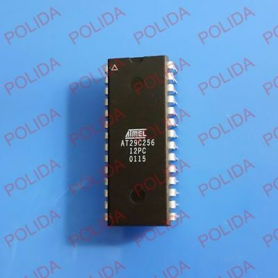 ATMEL  AT29C256-12PC INTEGRATED CIRCUIT 28 DIP IC CHIP NEW PACK OF1