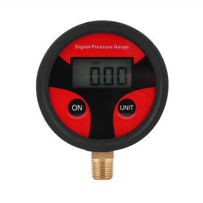 LCD Digital Tire Tyre Air Pressure Gauge Tester for Car Auto Motorcycle 0-200PSI