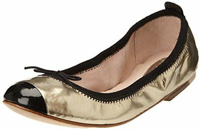 Bloch - Luxury, Ballerine da Donna, Dorato(Gold (Or (Metallic Platino/Black))),
