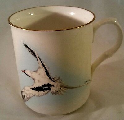 Crown Trent Fine Bone China Mug Cup The Bermuda Longtail  Staffordshire England