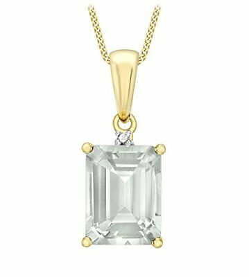 Carissima Gold - Collier - Femme - Or Jaune 375/1000 (9 cts) 0.44 gr - Diamant/A