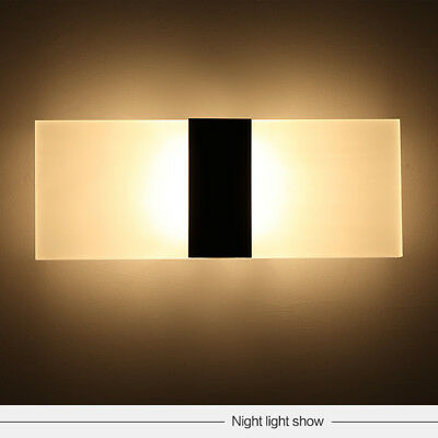 Modern Wall Light LED Up Down Cube Indoor Outdoor Sconce Lighting Lamp Fixture