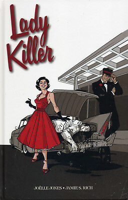 LADY KILLER #1+2 HC GESAMTAUSGABE deutsch (1-5) lim. JOELLE JONES Fables MAD MEN