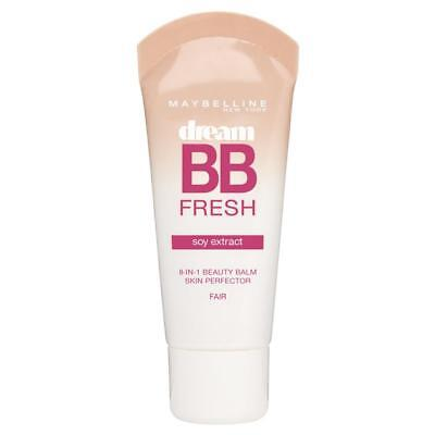 Maybelline Dream Fresh 8 In 1 Bb Cream 30Ml Soy Extract- Light