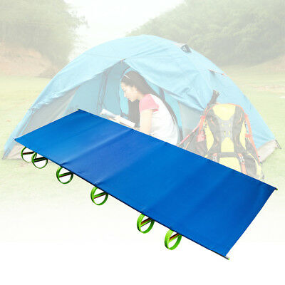 Newest Folding Camping Cot Portable Bed With Bag Hiking Caravan Sleeping Bed