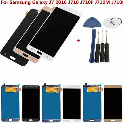 LCD Pantalla Tactil Touch Screen Digitizer par Samsung Galaxy J7 2016 J710 F/H/M