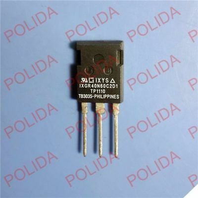 1PCS IGBT Transistor IXYS TO-247 IXGR40N60C2D1 100% Genuine and New