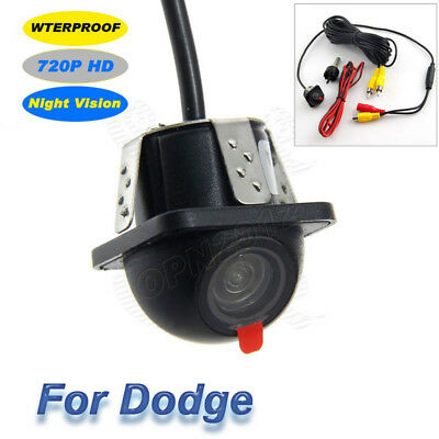 Waterproof Camera 720P HD CCD NTSC Night Full Vision Reverse Back Up For Dodge