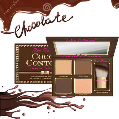 Makeup Palette Cocoa Contour Chiseled to Perfetion LIGHT TO MEDIUM