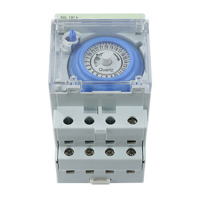 AC 220V 24h Time range Mechanical Time Switches Manual /Auto Control Timer HFIA