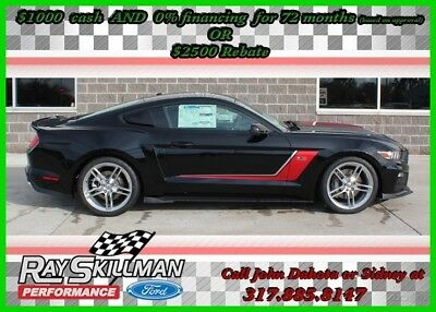 2017 Ford Mustang 2017 ROUSH RS3 Stage 3 Performance Mustang 670 HP 2017 GT Premium New 5L V8 32V Automatic RWD Coupe Premium 17 16 2016 ROUSH