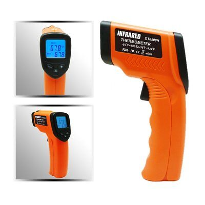 Temperature Gun Non-contact Infrared IR Laser Digital Thermometer -58 F to 932 M