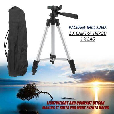 Universal Aluminum Portable Tripod Stand Camera Camcorder For Canon Nikon MC
