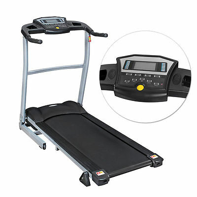 Electric Treadmill Exercise Equipment Folding Running Machine Motor Home Fitness