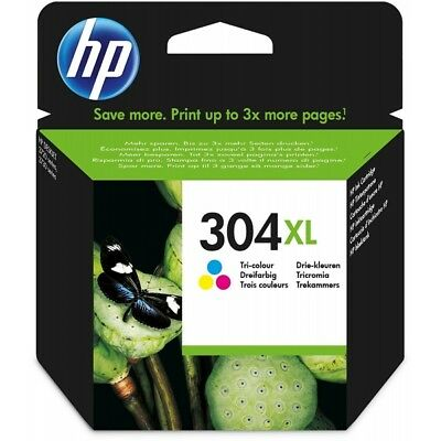 HP Original 304XL Cartucho de Tinta Tricolor (N9K07AE) HP Deskjet 3700 3720 3730