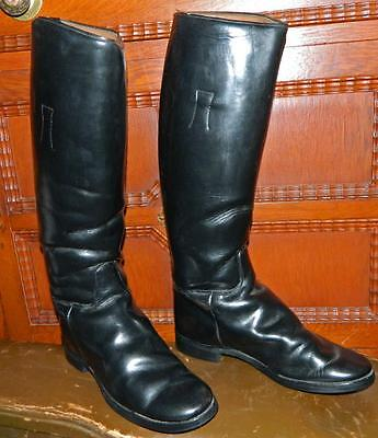 VINTAGE Colt Cromwell 1970s-80s Leather USA Equestrian Riding Boots Size 7 1/2