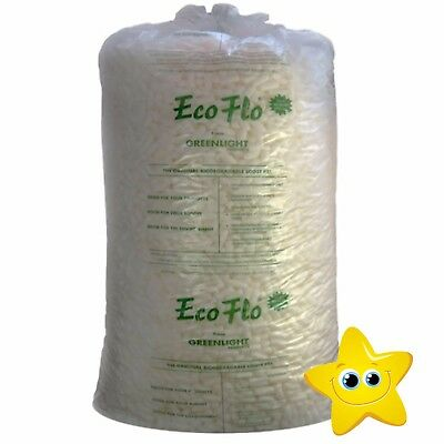 15 Cubic Ft Bag of ECOFLO Biodegradable Loose Fill OFFER