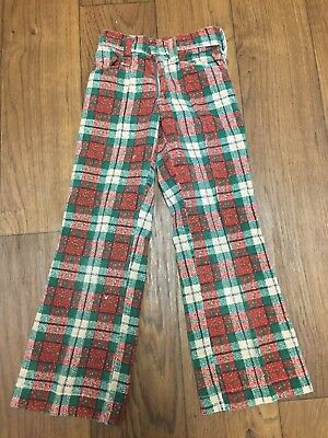 Kids Vintage Bell Bottoms Corduroy holiday Christmas  5 6