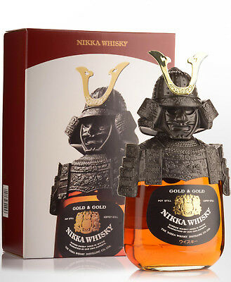 Nikka Whisky Gold & Gold Samurai Edition